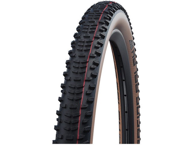 "SCHWALBE Racing Ralph Super Race Evolution Folding Tyre 29x2.35"" TLE Addix Speed, black/transparent"
